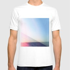 Ocean SMALL Mens Fitted Tee White