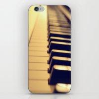 Ebony and Ivory iPhone & iPod Skin
