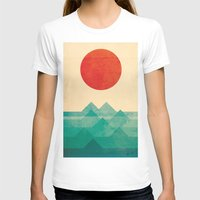 funny T-shirts featuring The ocean, the sea, the wave by Picomodi