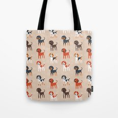 Coonhounds! Tote Bag