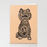 Polynesian Pomeranian Stationery Cards