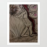 As I Waited For You, The… Art Print