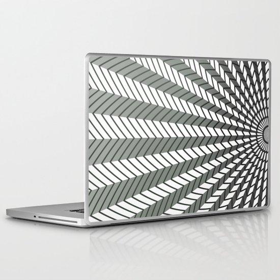 Low Peaks - Black & White Laptop & iPad Skin