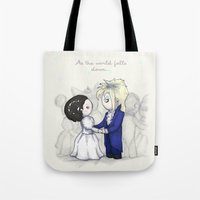 As The World Falls Down … Tote Bag