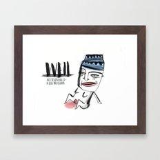 W E I L  Framed Art Print