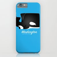 iPhone & iPod Case featuring The Washington Whale by Mike Oncley