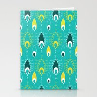 paisley pattern 4 Stationery Cards