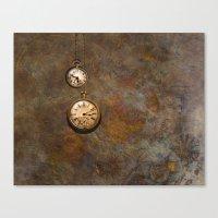 Clockworks Canvas Print