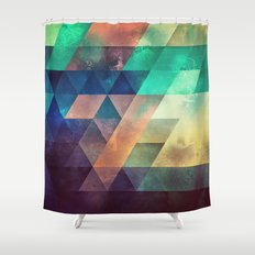 Lytr Vyk Ryv Shower Curtain