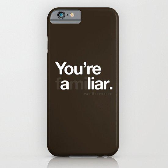 Liar iPhone & iPod Case