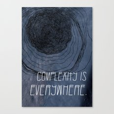 COMPLEXITY Canvas Print