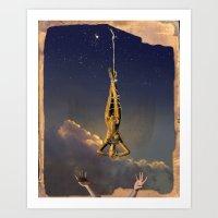 Tarot Series: The Stars Art Print