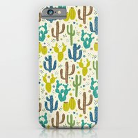 Prickly Cactus (Greens) iPhone 6 Slim Case