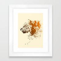 Tiger Lilly Framed Art Print