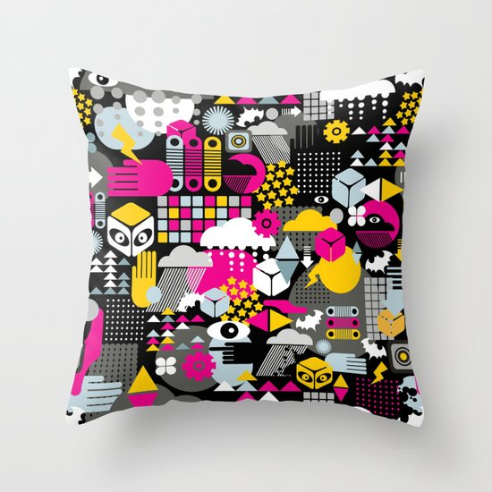 Abstract. Throw Pillow