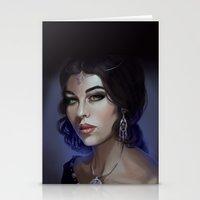 Morgana LeFay Stationery Cards