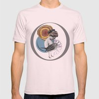 Navigate Home Mens Fitted Tee Light Pink SMALL