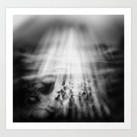 Wreck Or Rescue. Art Print