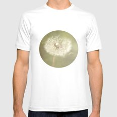Sweet Dandelions  Mens Fitted Tee SMALL White