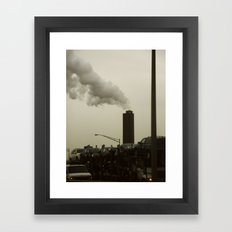 Jersey Framed Art Print