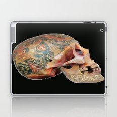 Tibetan Skull Laptop & iPad Skin
