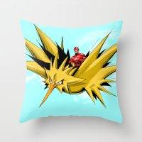 Flash-Dos Throw Pillow