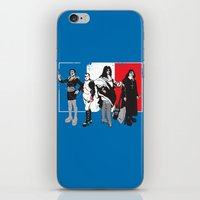 French Kissers iPhone & iPod Skin