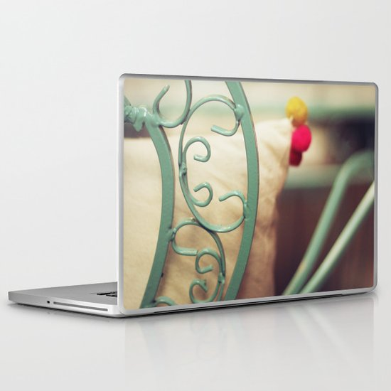 The chair and the pillow Laptop & iPad Skin