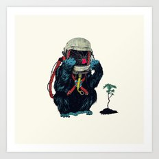 Clams Art Print