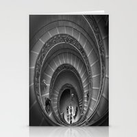 The Spiralling Staircase. Stationery Cards