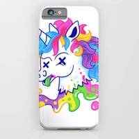 iPhone & iPod Case featuring Deadicorn by Pizza! Pizza! Pizza!