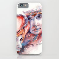 Fire And Ice ... Mask iPhone 6 Slim Case