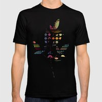 Poise Mens Fitted Tee Black SMALL