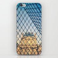 In The Pyramid iPhone & iPod Skin