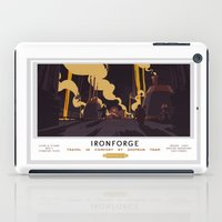 Ironforge Classic Rail Poster iPad Case