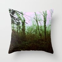 Into The Woods. Throw Pillow