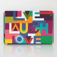 C13 LIVELAUGHLOVE V2 iPad Case