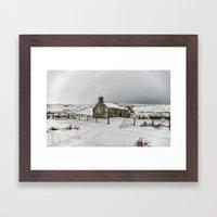 Ribbledale Derilict Framed Art Print