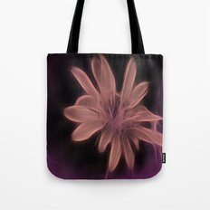 Psychedelic Flower Tote Bag
