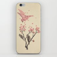 Blossom Bird  iPhone & iPod Skin