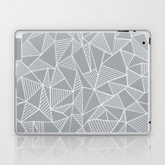 Abstraction Lines Grey Laptop & iPad Skin