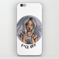 F*ck Off iPhone & iPod Skin