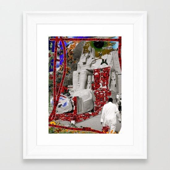 Egypt and Jordan Framed Art Print