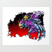 METAL MUTANT 5 Art Print