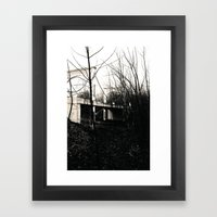 FAIRGROUND V Framed Art Print