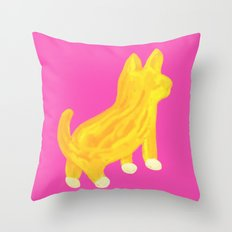 Shibainu dog Throw Pillow