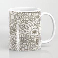 Nashville Map Mug