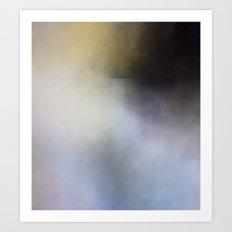 Submarine Dark Abstract Landscape Art Print