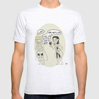 Loki Is Not Very Good At Magic Mens Fitted Tee Ash Grey SMALL