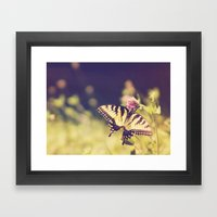 If Nothing Changed, Ther… Framed Art Print